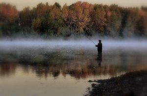 Рыбная ловля в осенний период