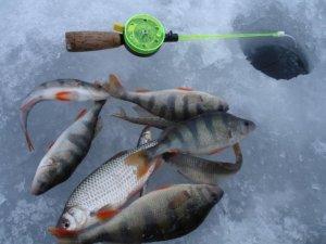 Особенности рыбалки на озере в зимнее время