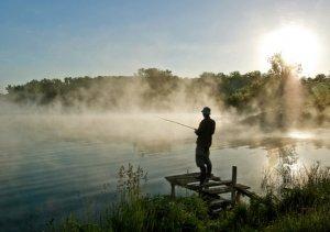 Рассеянный рыболов