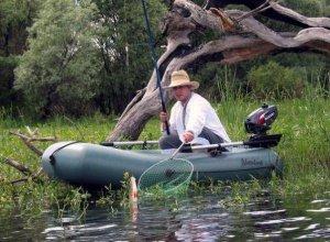 На рыбалку с радостью, а с рыбалки с гордостью