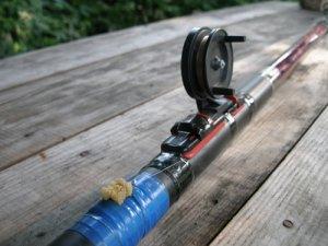 Поплавочная удочка для ловли в прибрежной зоне