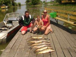 Ловля рыбы в первом месяце лета
