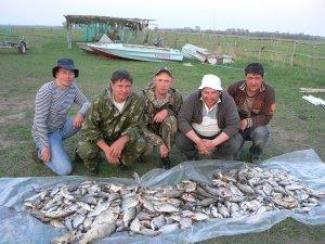 Летняя рыбалка на Ахтубе