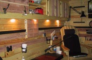Как построить домик для рыбака?