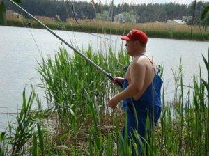Рыбная ловля в камышах