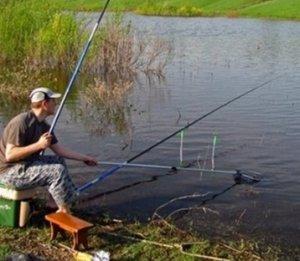 Рыбная ловля в июне