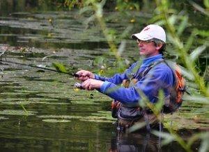 Ловля рыбы взаброд