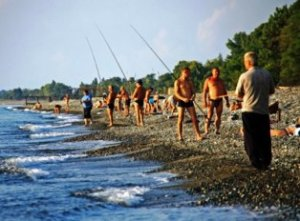 Морская рыбалка в Крыму