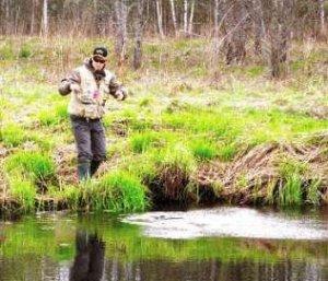 Особенности лови рыбы на малых реках