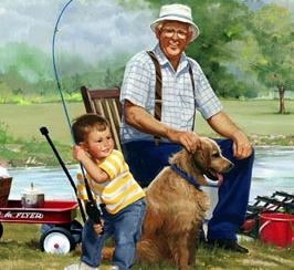 Рыбалка увлечение для молодых