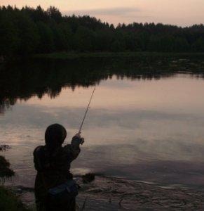 Успешная ночная рыбалка