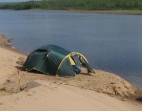 Выбор палатки для летней рыбалки