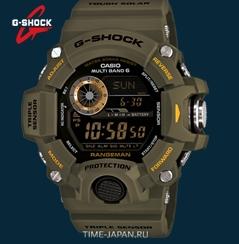 Часы Касио с компасом, термометром и барометром – обзор