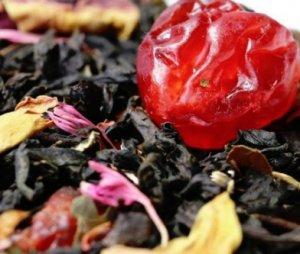 Черный чай «Дикая вишня с ягодой» - обзор чая